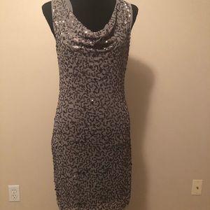Junior's SZ Medium Max Studio Sequin Dress/Tunic